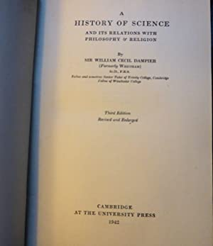 A History of Science, and its Relations