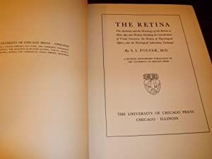 The Retina by S.L. Polyak First Edition 1941 first impression 1948: Polyak, S.L.