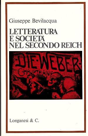 Letteratura e società nel secondo Reich: Giuseppe Bevilacqua