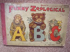 FUNNY ZOOLOGICAL (A FIRST PRINTING): M.MORRIS (ILLUSTRATED BY)