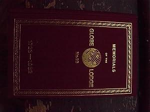 MEMORIALS OF THE GLOBE LODGE/REMINISCENCES OF TWENTY: HENRY SADLER/W.J.K.CHANDLER/ERNEST SKUES/RONALD