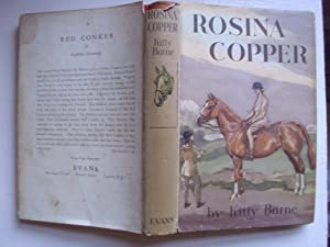 ROSINA COPPER (A FIRST PRINTING): KITTY BARNE (ILLUSTRATED