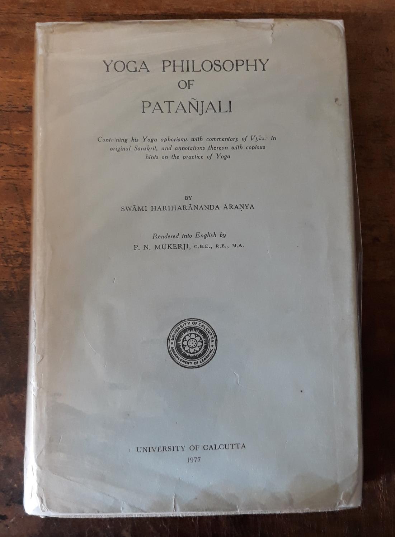 Yoga Philosophy Of Patanjali By Swami Hariharananda Aranya Good Hardcover 1977 Scarthin Books Aba Ilab