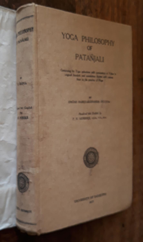 Yoga Philosophy Patanjali Used Abebooks