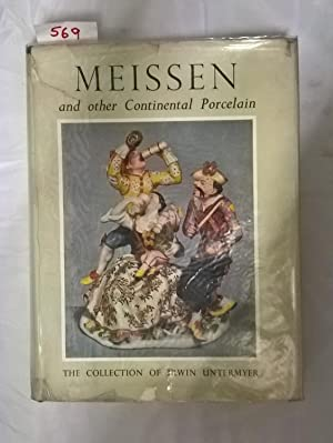 Meissen and other Continental Porcelain, Faience and: Hackenbroch, Yvonne