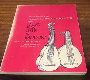 The Complete Works Volume I: Music for: Holborne, Anthony (edited