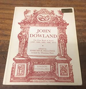 The First Book of Ayres (1597, 1600,: Dowland, John (edited
