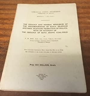 The Geology and Mineral Resources of the: Roe, F. W.
