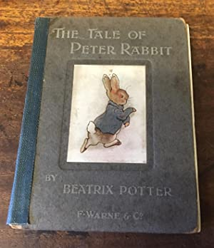 Tale of peter rabbit first edition beatrix potter bauman rare.