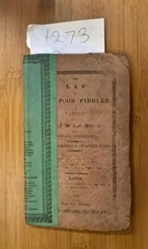 The Lay of the Poor Fiddler, a: An Admirer of