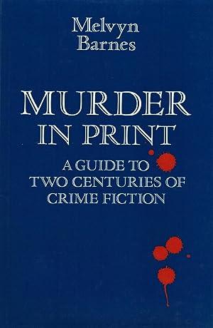 MURDER IN PRINT: BARNES, Linda