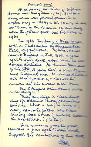 THE STRANGE CASE OF EDMUND GURNEY: HALL, Trevor H.