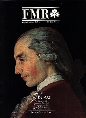 FMR NO. 22: RICCI, Franco Maria