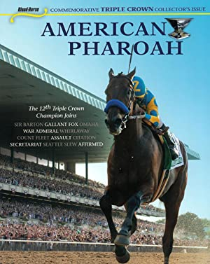 AMERICAN PHAROAH ~ Blood-Horse Commemorative TRIPLE CROWN Collector's Issue