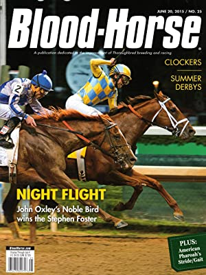 BLOOD-HORSE, JUNE 20, 2105 / NO. 25 ~ NIGHT FLIGHT
