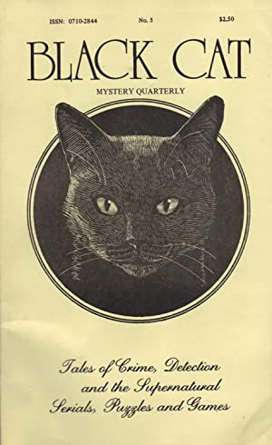 BLACK CAT MYSTERY QUARTERLY NO. 5