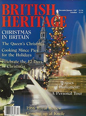 BRITISH HERITAGE ~ December 1986 / January 1987
