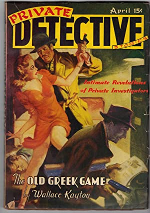 PRIVATE DETECTIVE Stories: Various