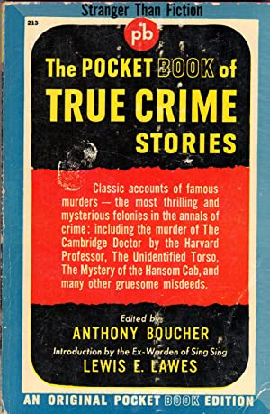 THE POCKET BOOK OF TRUE CRIME STORIES: BOUCHER, Anthony