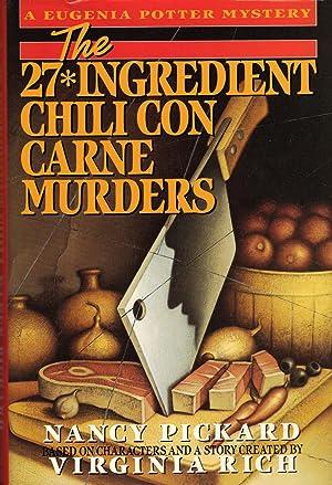 27*INGREDIENT CHILI CON CARNE MURDERS: PICKARD, Nancy