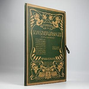 Vorbilder für Kunstverglasungen im stile der Neuzeit.: Lyongrün, A.