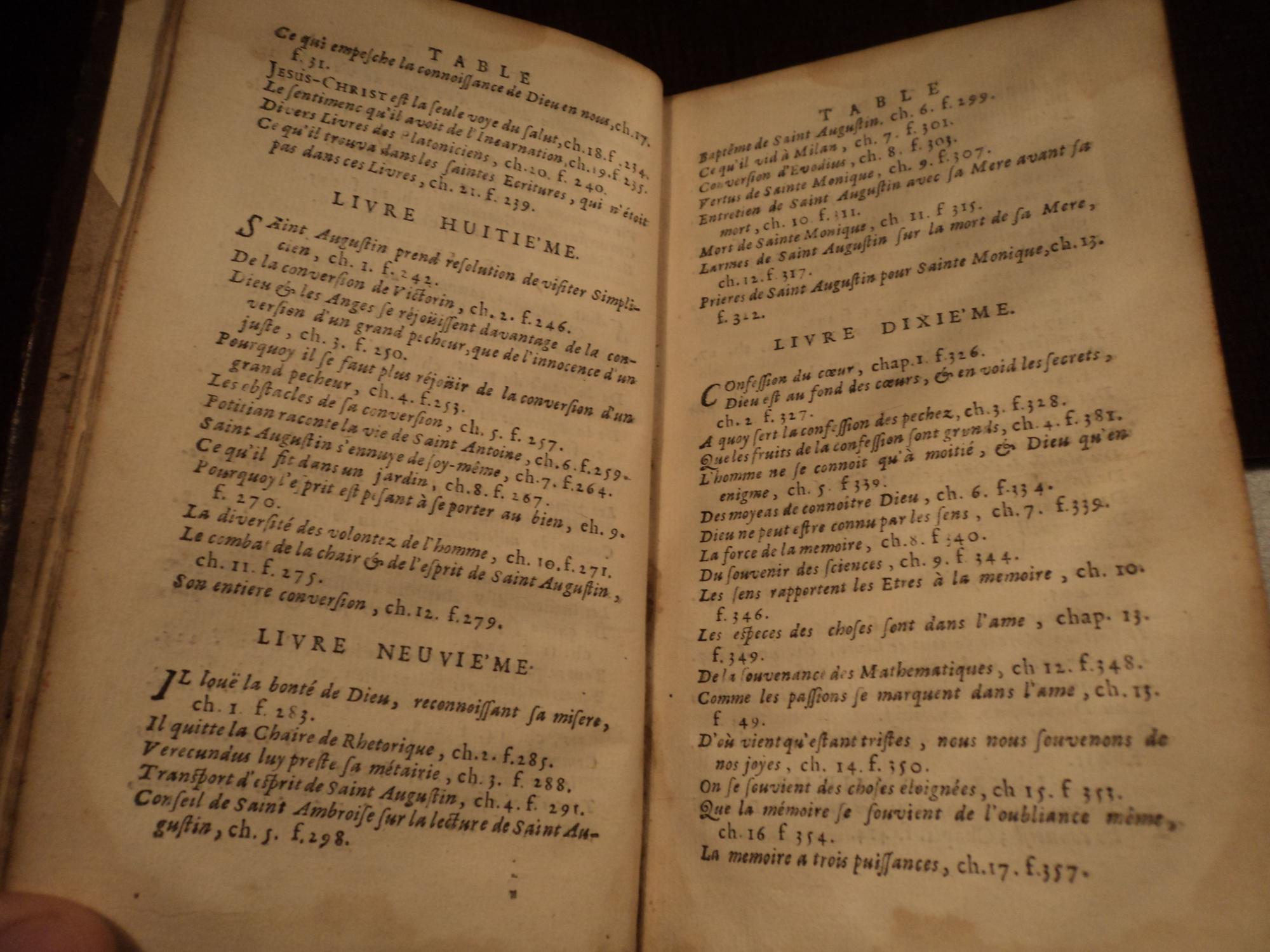 1696 Confessions of Saint Augustine Original Sin Lust Manichaesim Sexuality CLASSIC: Augustine, ...