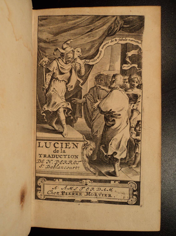 Lucian Of Samosata By Ablancourt Greek Satire Roman Empire