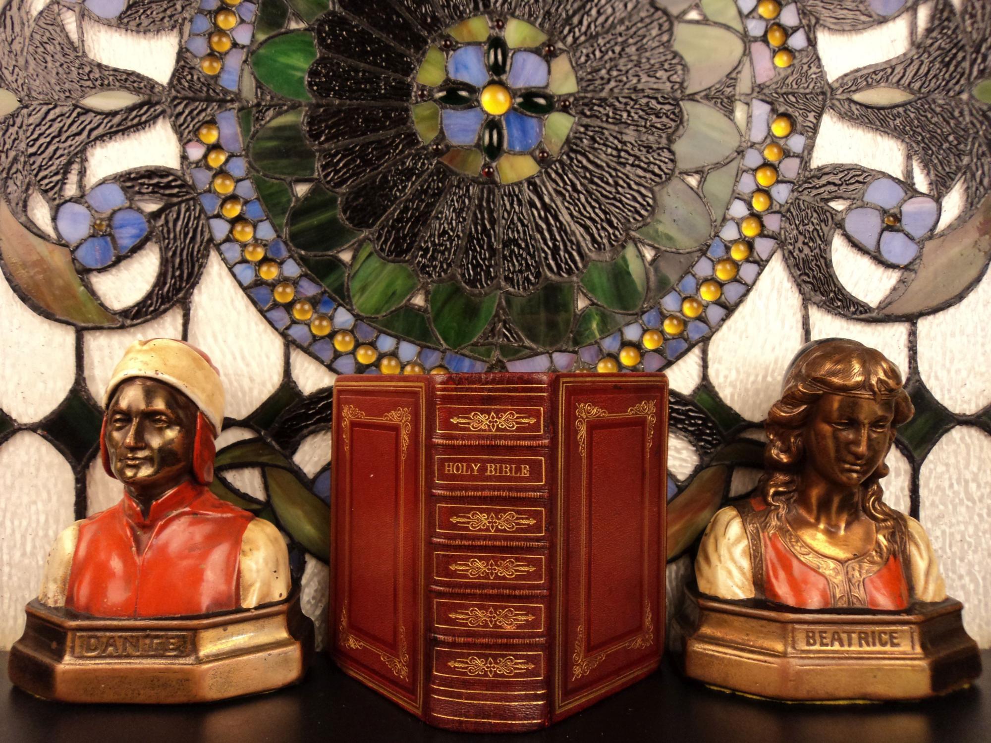 1868 HOLY BIBLE Moroccan Leather English King James KJV Beautiful BINDING NY: Holy Bible