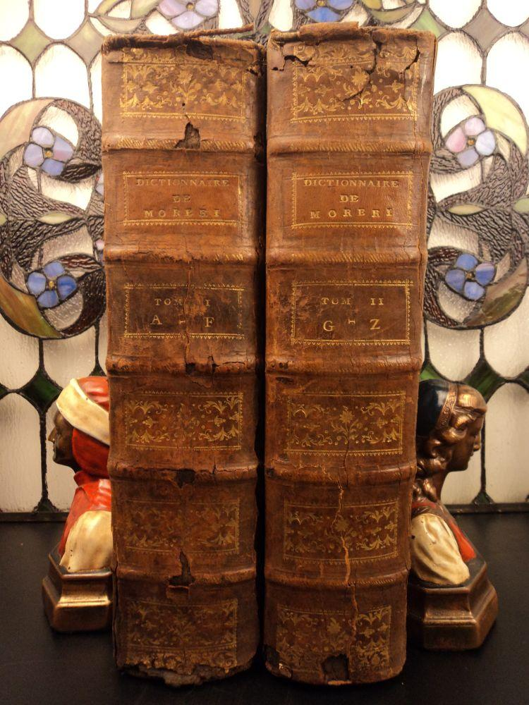 1698 Grand Historical Dictionary Louis Moreri French Encyclopedia Complete SET: Louys Morery