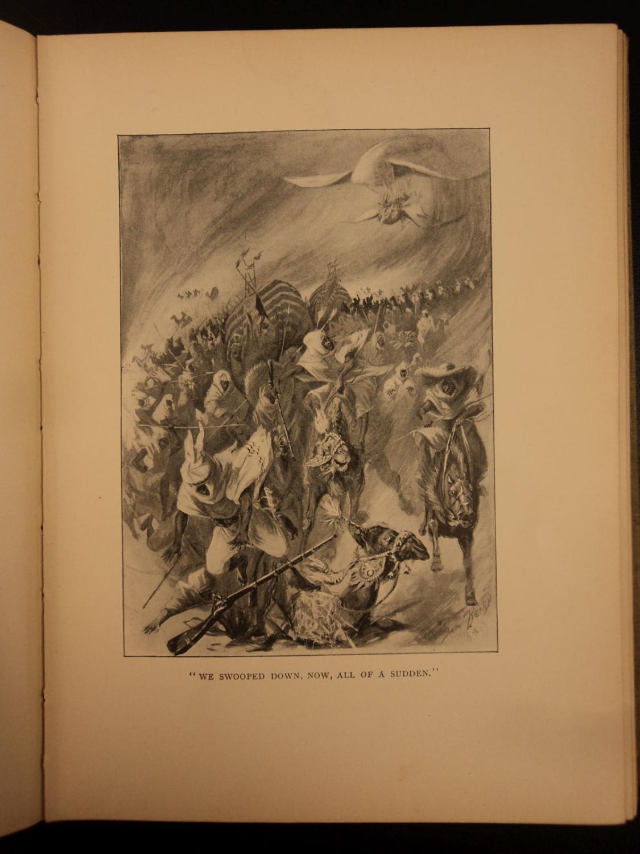 1894 1st ed Mark Twain TOM SAWYER Abroad Huck Finn Mississippi River Illustrated: Mark Twain; ...