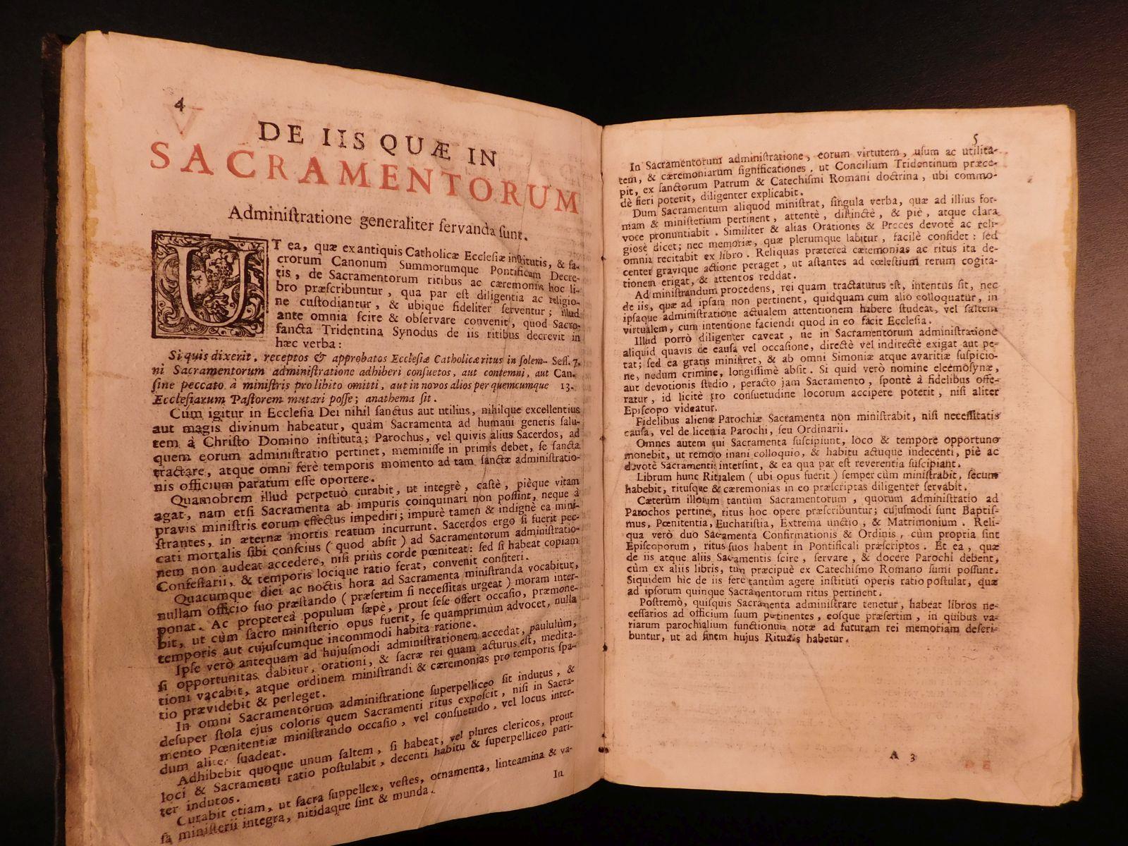 1751 Occult Demon EXORCISMS Roman Catholic