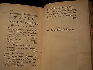 Voyages New World Christopher Columbus Las Casas Indians Mexico Cortez: Prevost d Exiles, Antoine ...
