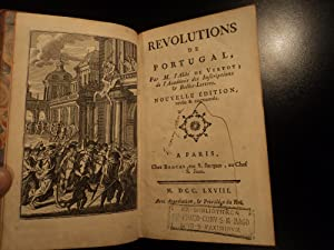 1768 Portuguese Restoration War Portugal Revolution Lisbon House of Braganza & Habsburg: Abbe ...