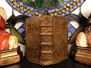 Huguenot Psalms Holy Bible EXQUISITE Gold Leather BINDING Beza & Marot: Holy Bible