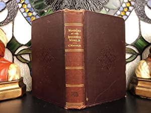 1862 Wonders of Invisible World Salem Witch: Cotton Mather