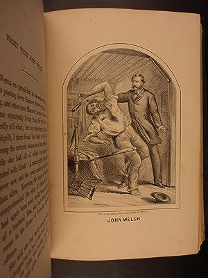 1873 1st ed Police Records of Boston Massachusetts Illustrated Crime Gangs MA: Edward H Savage