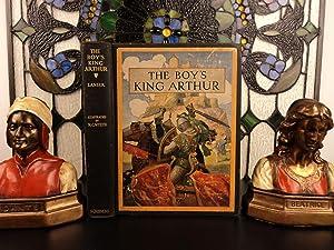 1927 The Boy's King Arthur Sir Thomas Malory Medieval Children's Illustrated: Thomas Malory, Sir; ...