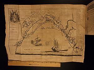 1740 Venice Italy Government Illustrated Venetian Costumes Architecture MAP Ship: Abraham Nicolas ...