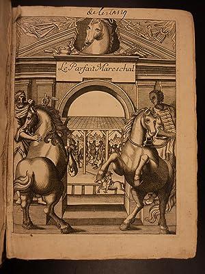 1708 Horses CAVALRY Mareschal Solleysel EQUESTRIAN Veterinary: Jacques de Solleysel;