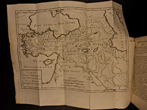 1740 1st ed Ancient EGYPT Persia Xerxes Carthage Greece Rome MAPS Geography SET: Charles Rollin