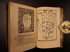 1536 Chiromancy della Rocca Cocles Palmistry Necromancy Prophecy Occult Science: Bartolommeo della ...
