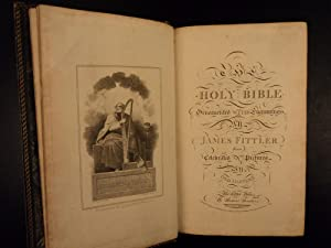 1795 King James Holy BIBLE Illustrated James Fittler 61 Engravings Old Master: Holy Bible; James ...