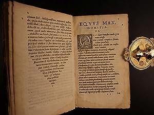 1547 Statius GREEK Literature Thebaid Silvae Achilleid Latin Gryphius Gauffered: Publius Papinius ...