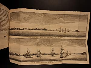 1750 Voyages of Anson Atlas MAPS South America Philippines Panama Peru 3v SET: George Anson