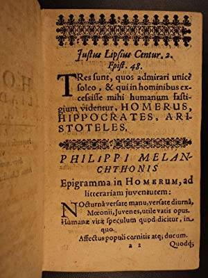 1561 Theognis of Megara + 1632 Homer's Iliad GREEK TEXTS Poetry ROME Mythology: Homer