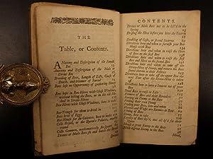 1749 BEST edition Joseph Warder BEES Beekeeping Melittology Apiology Drone Bee: Joseph Warder