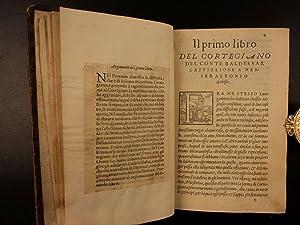 1556 Book of Courtier Baldassare Castiglione Italian Renaissance Courtesan Dolce: Baldassarre ...