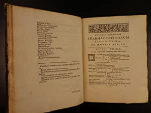 1695 1ed Pharmaceutical Collection Penicher Pharmacopeia MEDICINE Remedies Drugs: Ludovico Penicher