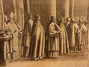 1651 Ceremonial Episcoporum Pope Clement VIII Catholic Church Gregorian CHANT: Catholic Church