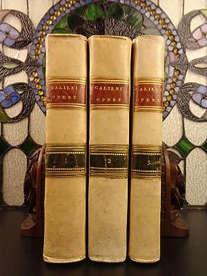 1718 COMPLETE Works of GALILEO Galilei Italian: Galileo Galilei; Giuseppe